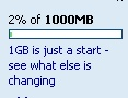 Hotmail become 1G