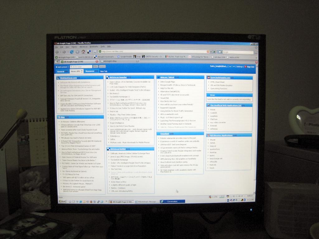 My LG LCD L1953T