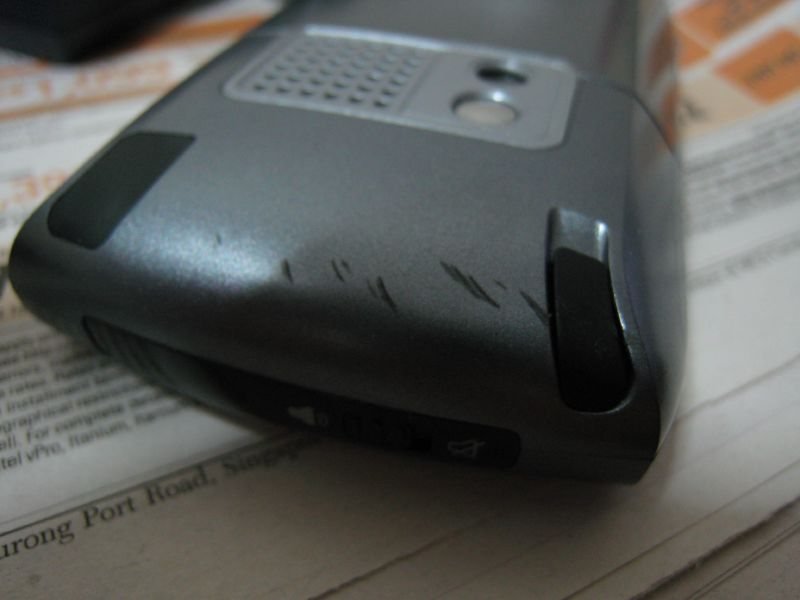 My Scratched Treo 680 3