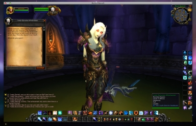 thumbs lady sylvanas World Of Warcraft PTR 3.0.2