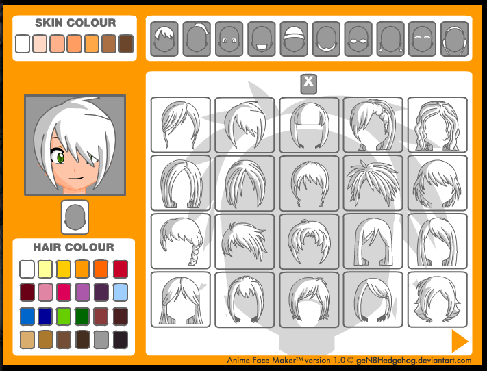 Design Your Anime Character Game : Websites to create your own avatar i m knight