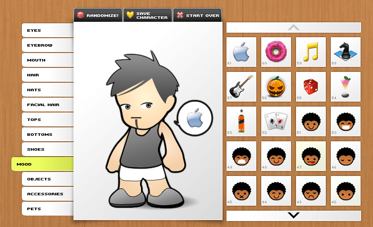 Character Design Generator : Websites to create your own avatar i m knight
