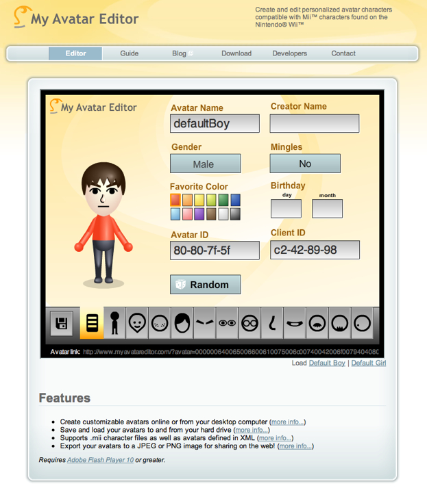 7 websites to create your own avatar - I'm Knight