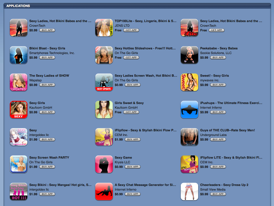 Adult Web Apps 40