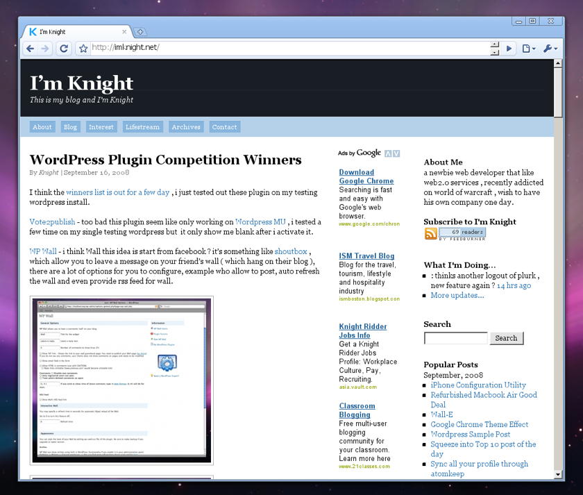 Google Chrome Crossover Mac - I'm Knight