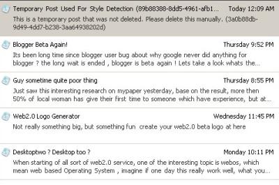 Windows Live Writer - Draft Post