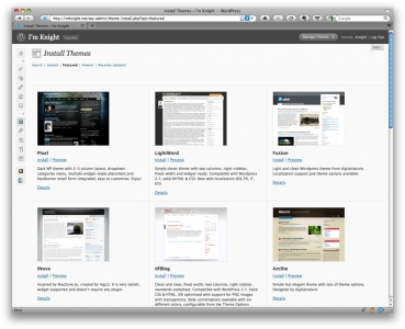 wordpress-2-8-install-new-theme