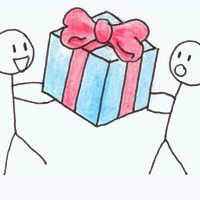 Dropbox  as xmas gift
