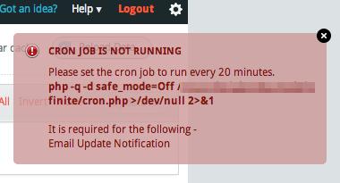 InfiniteWP-cronjob-error