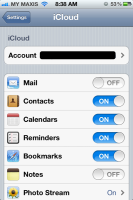 apple id for icloud 266x400 Using multiple apple id on iOS 5